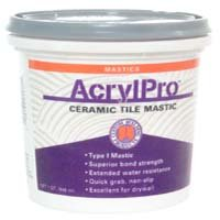 Recommended ceiling tile adhesive