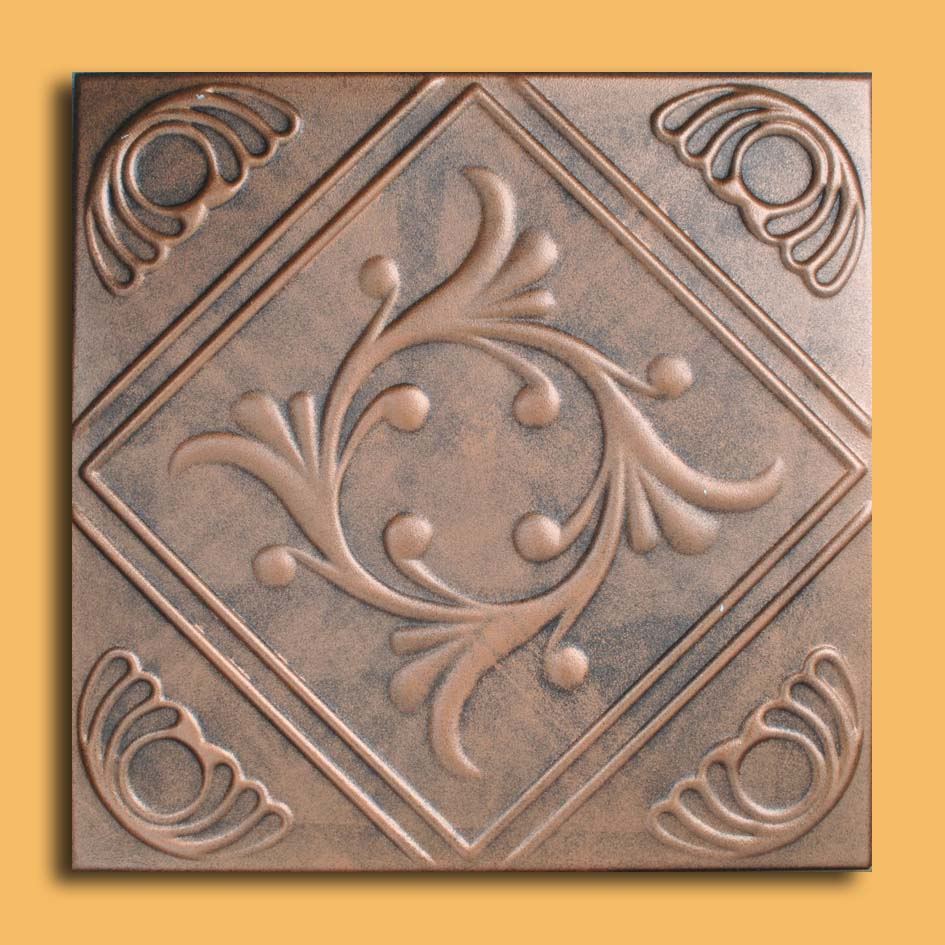 20x20 anet antique copper black ceiling tiles antique ceilings these ceiling tiles are finished in antique design and are made of uniform extruded polystyrene foam with this technology it is possible to obtain smooth dailygadgetfo Gallery