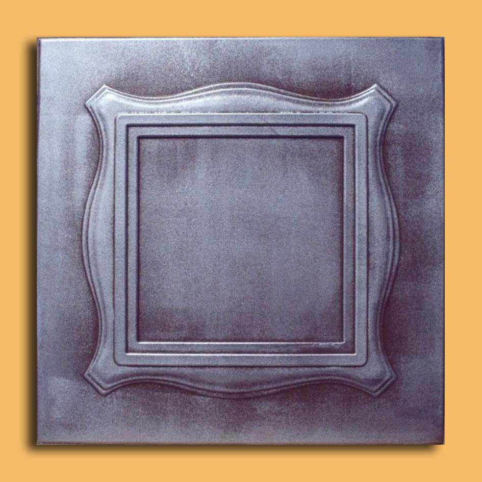 Brown ceiling tiles