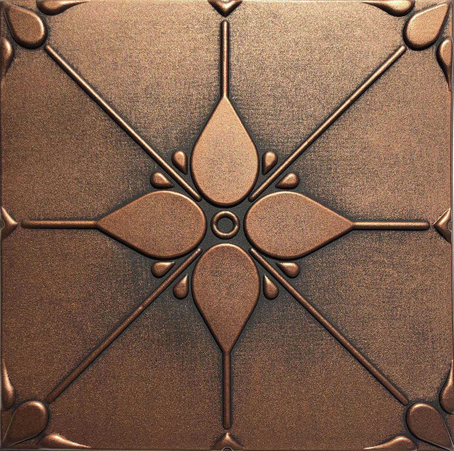 Joy Antique Copper Ceiling Tiles
