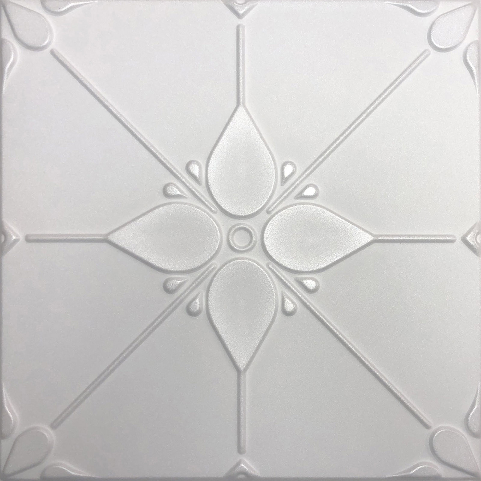 20 X20 Joy White Ceiling Tile Foam
