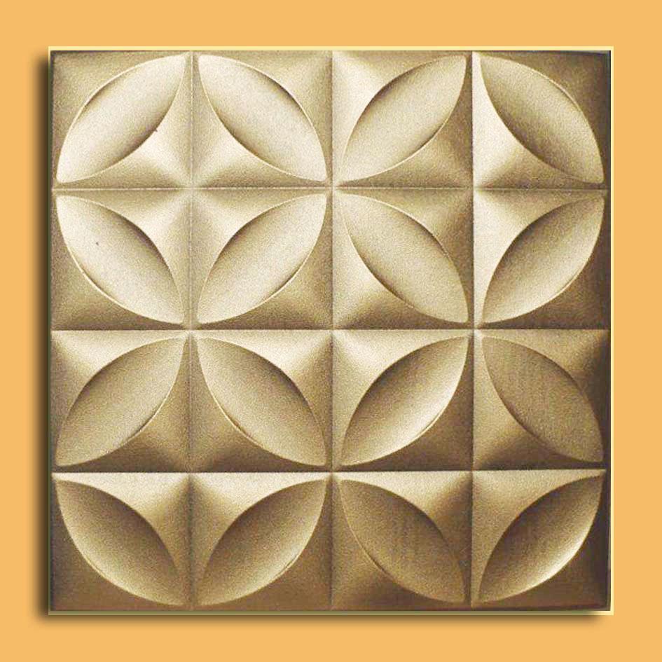 """20""""x20"""" Genoa Antique Silver Brown Ceiling Tiles Antique Ceilings"""