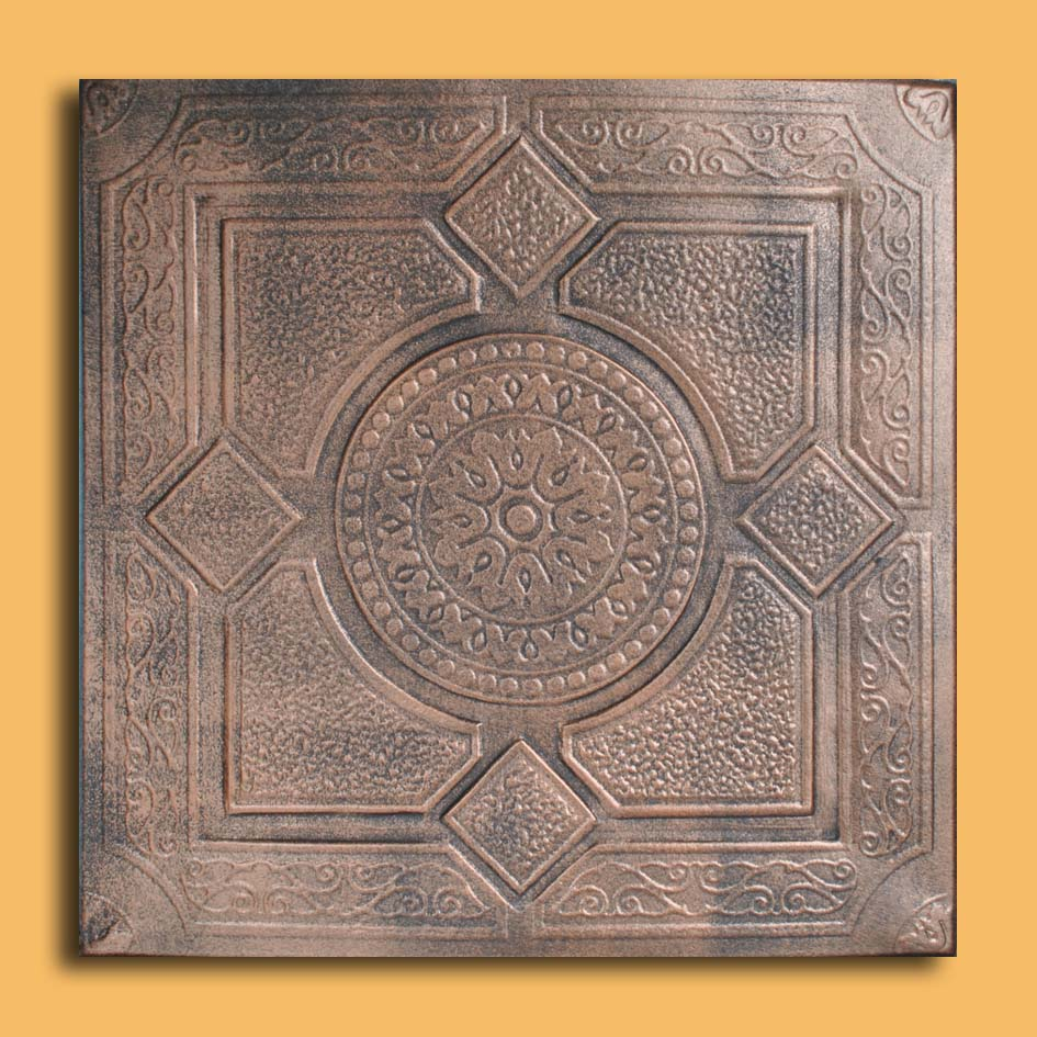 20x20 lima copper black pvc 20mil ceiling tiles antique ceilings these ceiling tiles are finished in antique design and are made of uniform pvc with this technology it is possible to obtain smooth and even surface dailygadgetfo Choice Image