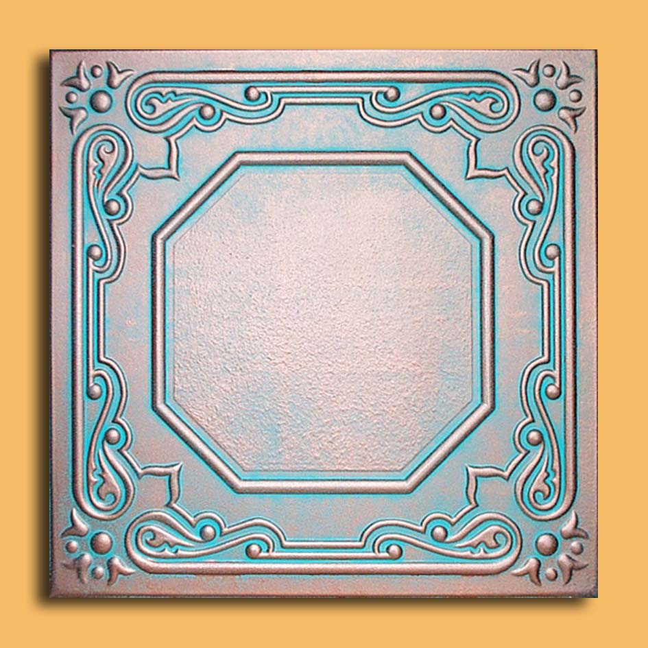 20x20 prato antique copper patina ceiling tiles antique 20x20 lisbona antique copper patina ceiling tiles dailygadgetfo Images