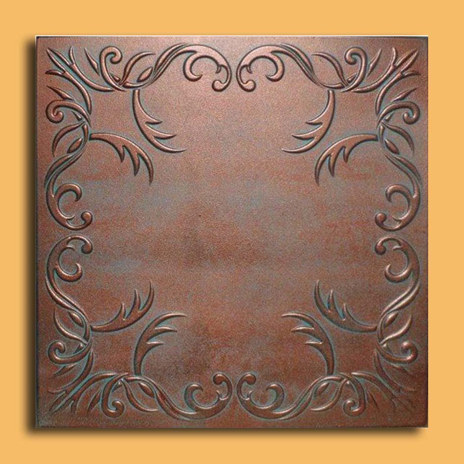 20x20 roven antique copper patina ceiling tiles antique ceilings 20x20 roven antique copper patina ceiling tiles foam ceiling tile dailygadgetfo Image collections