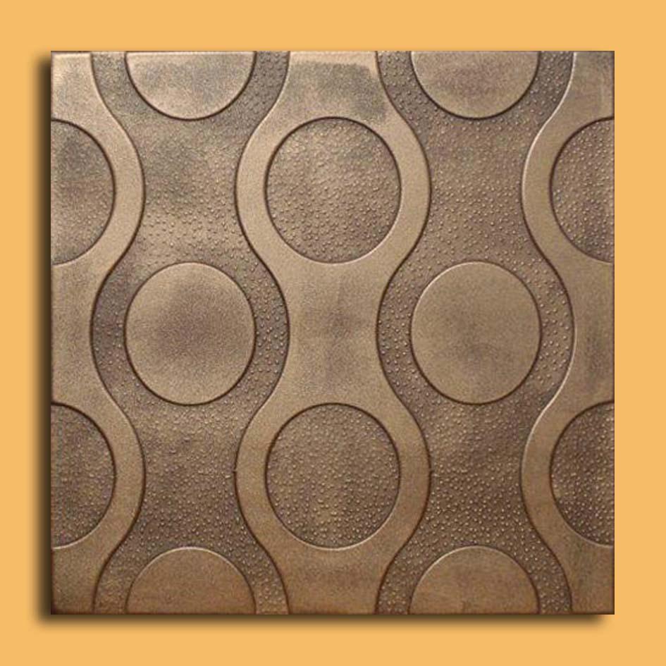 20 Quot X20 Quot Valencia Antique Bronze Brown Ceiling Tiles