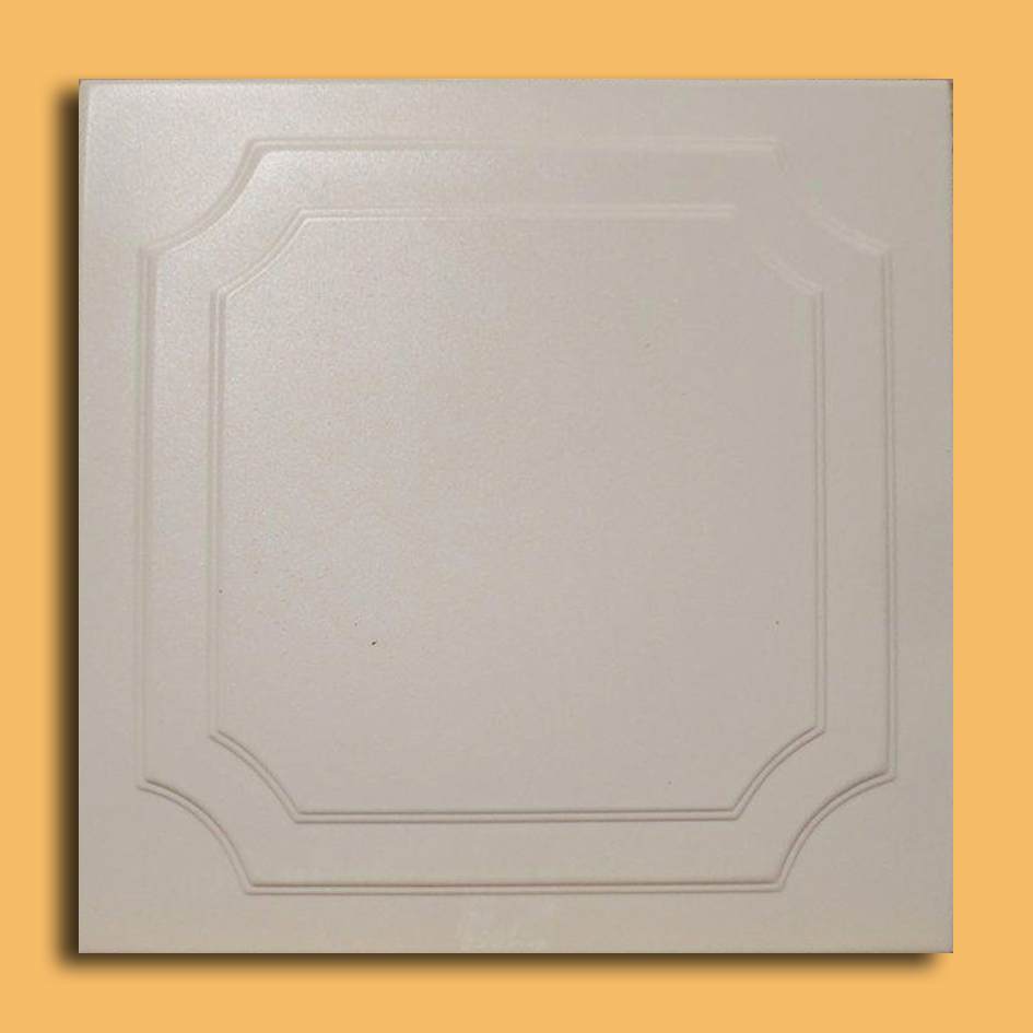 20x20 yalta antique white tile ceiling tiles - White Ceiling Tiles