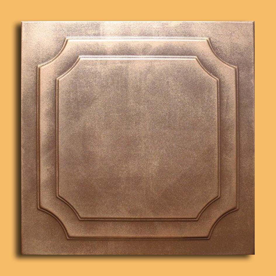 20 Quot X20 Quot Yalta Antique Bronze Brown Ceiling Tiles Antique