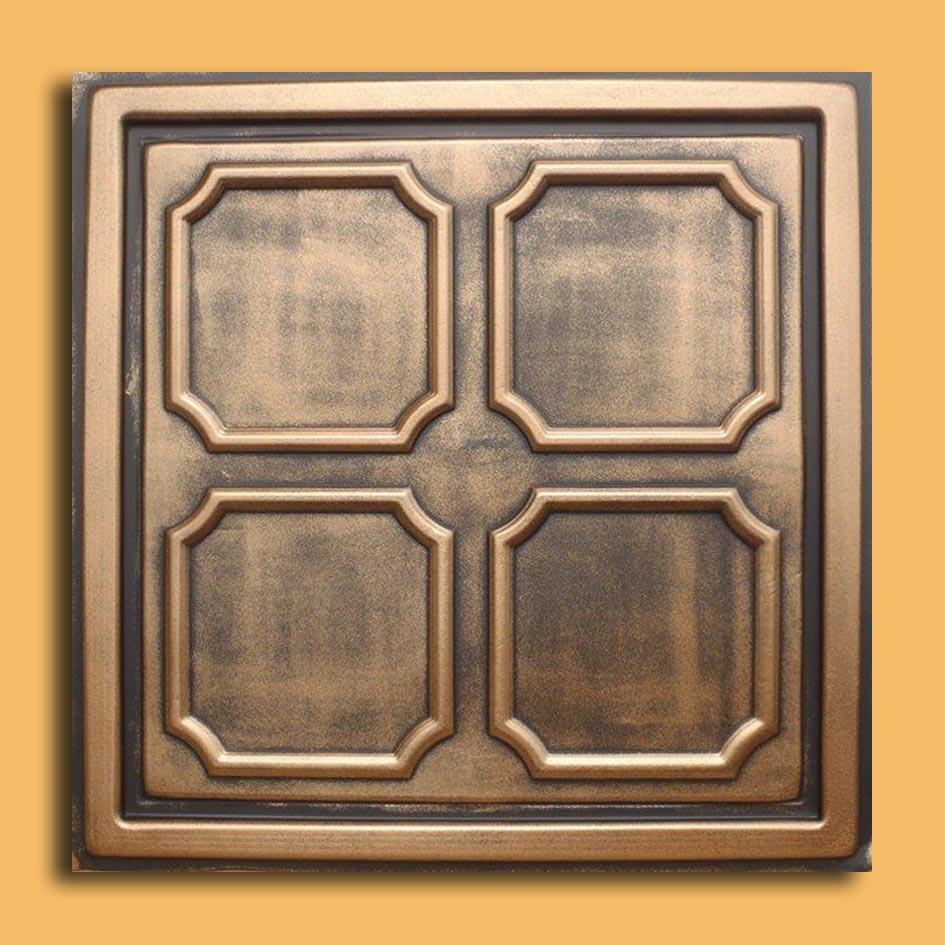 24x24 brilliance antique bronze black pvc 20mil ceiling tile c 24x24 alfa antique bronze black pvc 20mil ceiling tile ceiling dailygadgetfo Choice Image