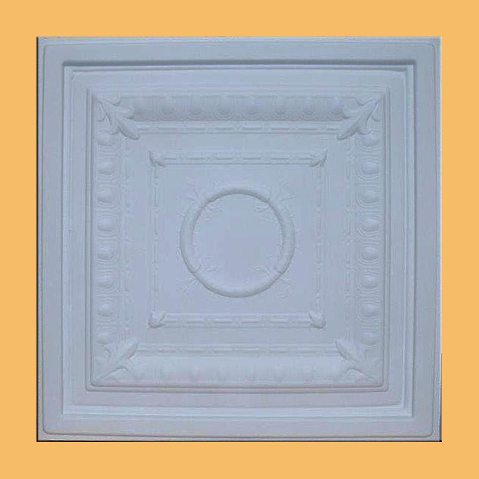 24 Quot X24 Quot Zeta White Pvc 20mil Ceiling Tiles Antique