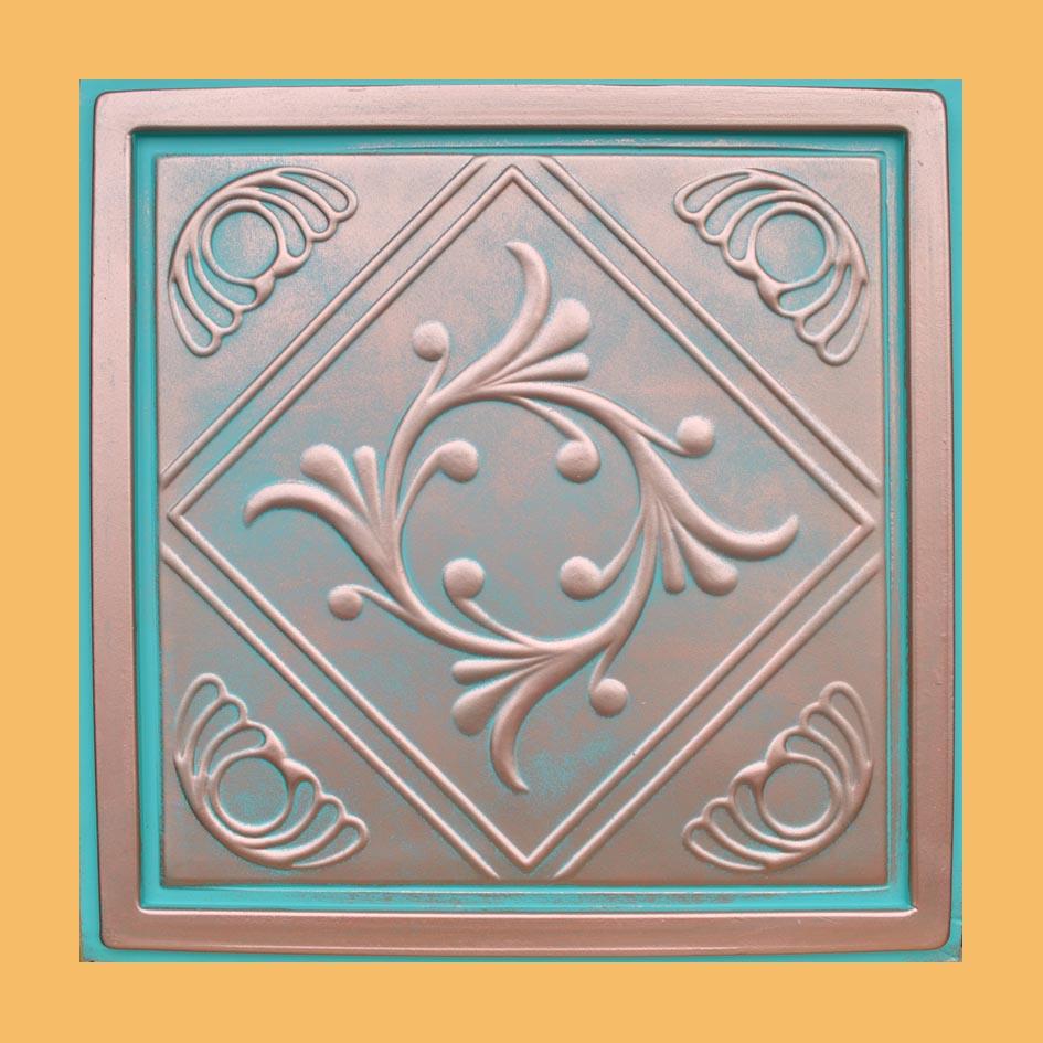 Ceiling Tile Genoa Copper