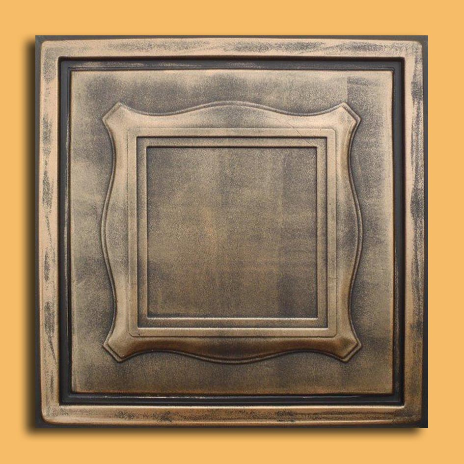 24x24 antyx antique copper patina pvc 20mil ceiling tiles 24x24 beta antique bronze black pvc 20mil ceiling tiles dailygadgetfo Choice Image
