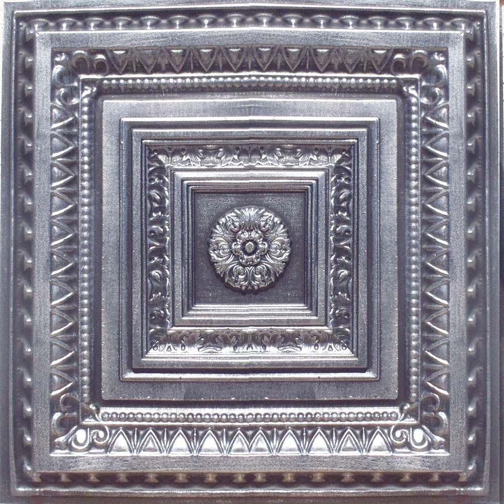 24x24 antyx antique silver brown pvc 20mil ceiling tiles 24x24 brilliance antique silver black pvc 20mil ceiling tiles dailygadgetfo Images