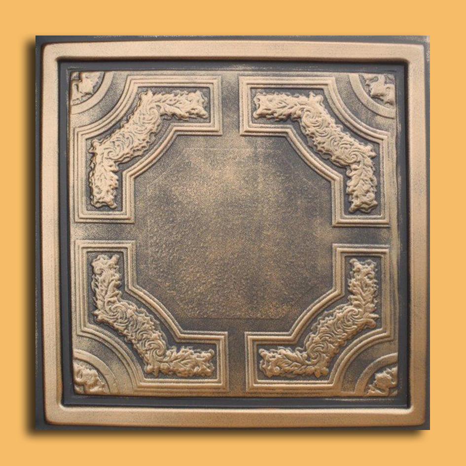 24x24 caracas antique bronze black pvc 20mil ceiling tiles 24x24 caracas antique bronze black pvc 20mil ceiling tiles pvc ceiling tile dailygadgetfo Images