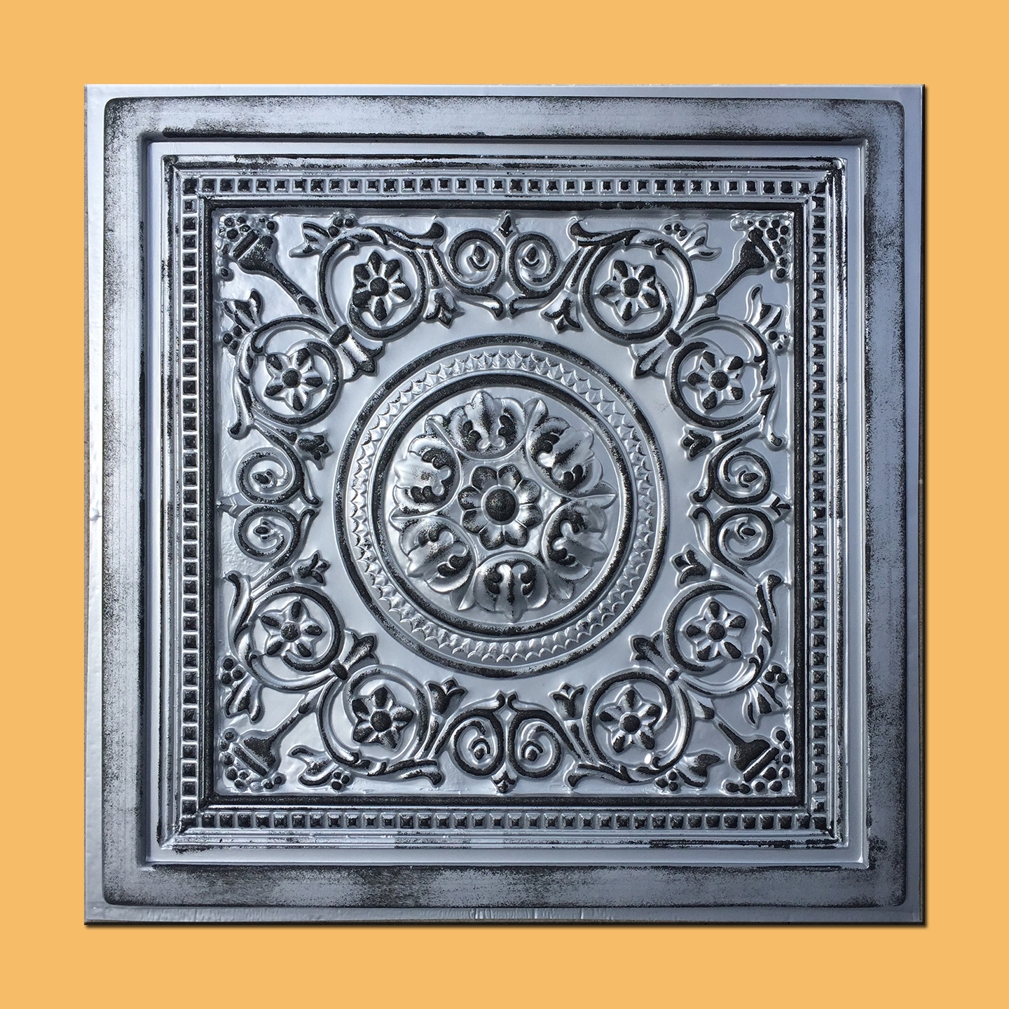 24x24 majesty rustic silver pvc 20mil ceiling tiles best seller 24x24 majesty rustic silver pvc 20mil ceiling tiles best seller pvc ceiling tile dailygadgetfo Gallery