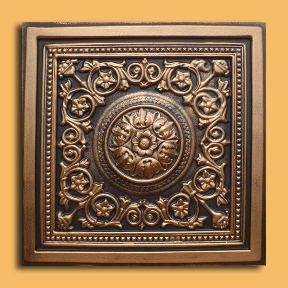 24 Quot X24 Quot Majesty Antique Bronze Black Pvc 20mil Ceiling