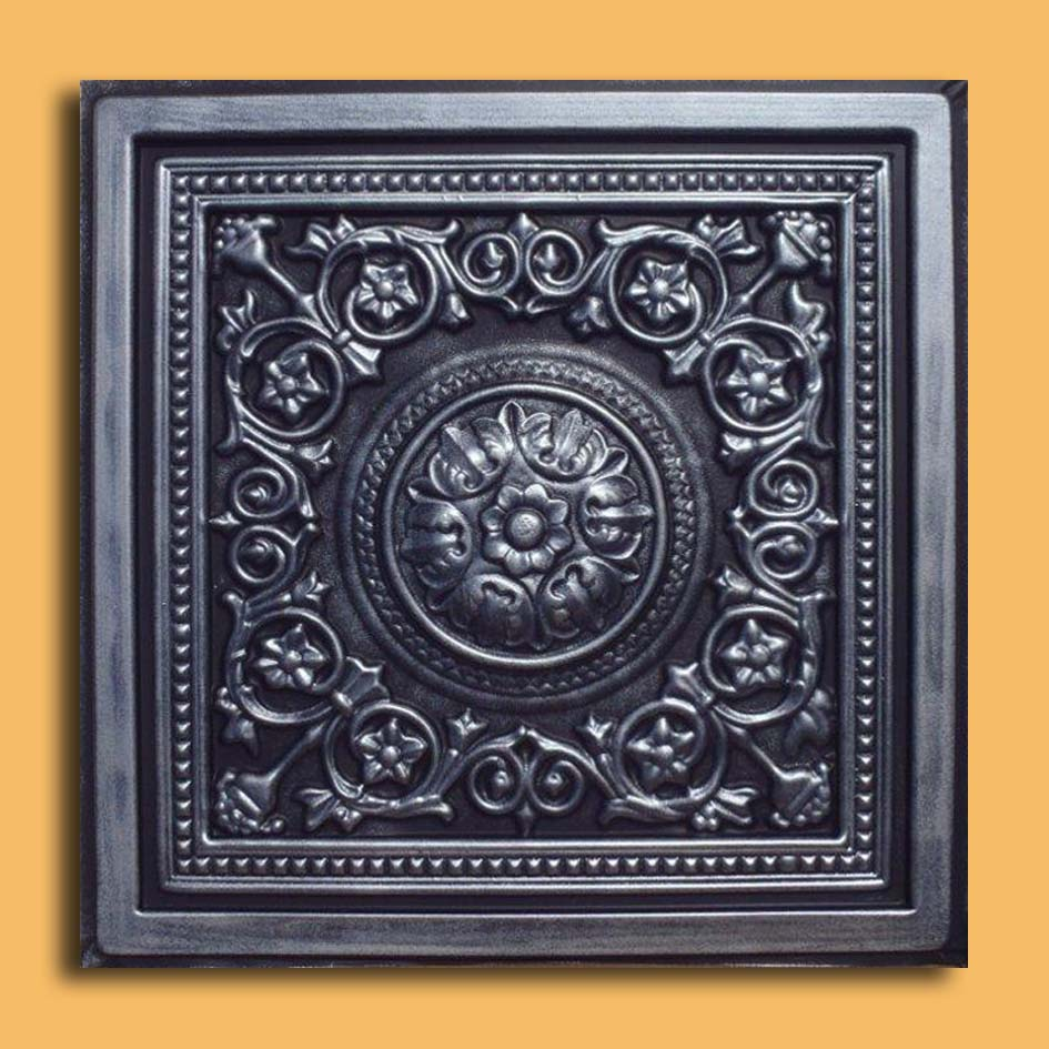 24x24 majesty antique silver black pvc 20mil ceiling tiles 24x24 majesty antique silver black pvc 20mil ceiling tiles best seller pvc ceiling tile doublecrazyfo Image collections