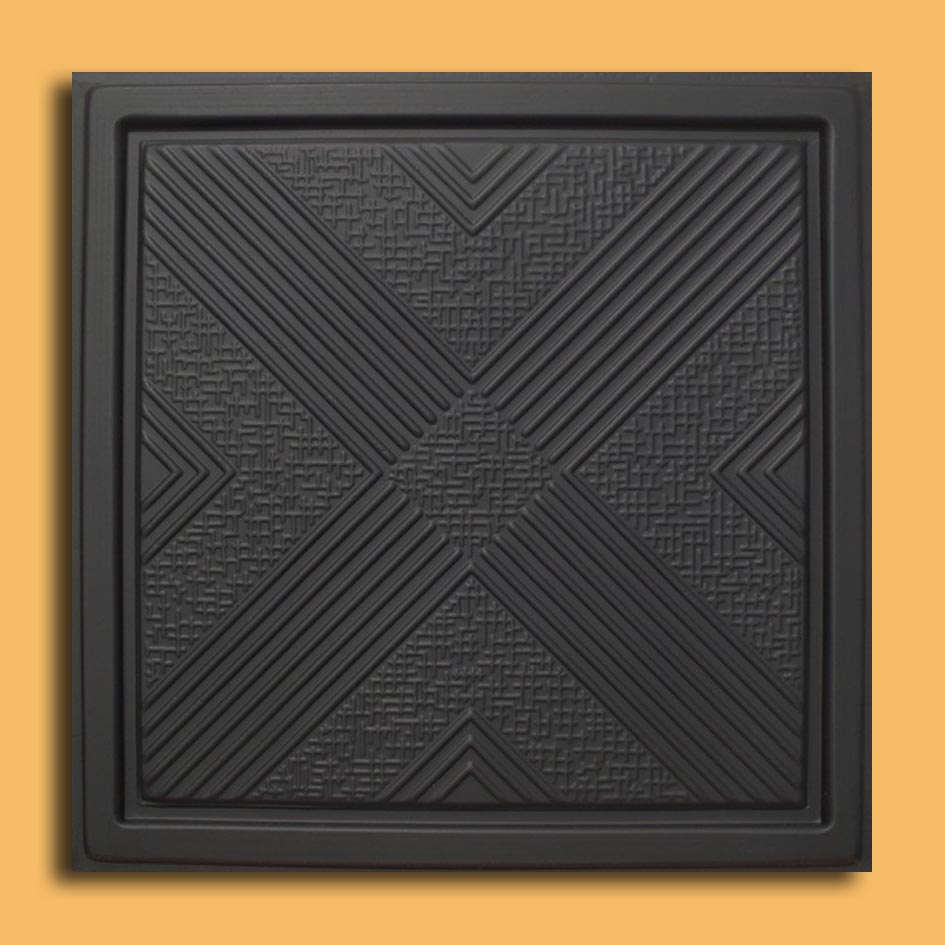 24x24 malta black pvc 20mil ceiling tiles antique ceilings glue our newest addition plastic ceiling tiles they come in 24x24 size feather light easy to install easy to clean stain resistant water resistant dailygadgetfo Image collections