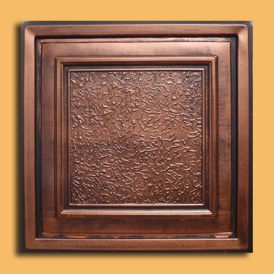 24x24 zeta antique copper black pvc 20mil ceiling tiles antique 24x24 zeta antique copper black pvc 20mil ceiling tiles pvc ceiling tile doublecrazyfo Image collections