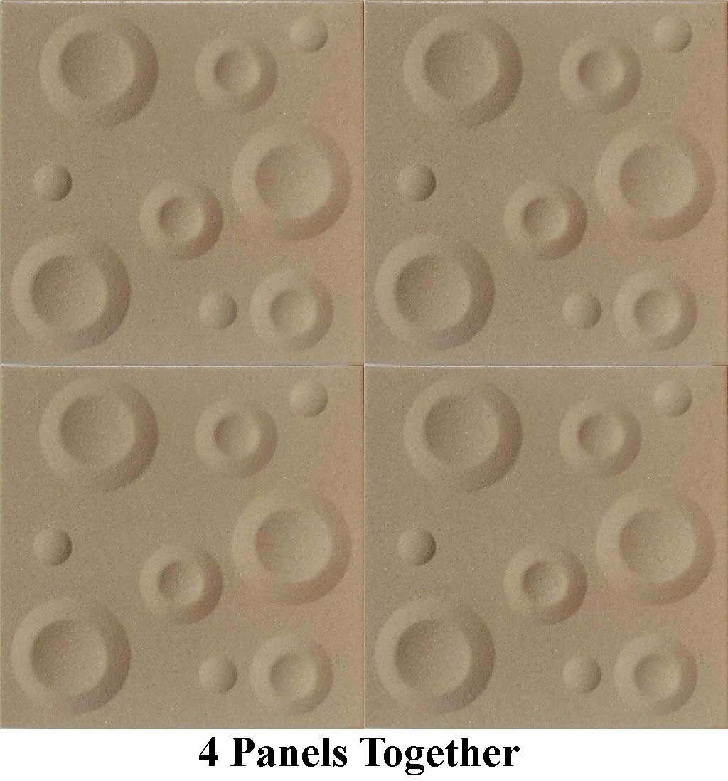 Crater Panels Sand Texture 4pc Antique Ceilings Glue