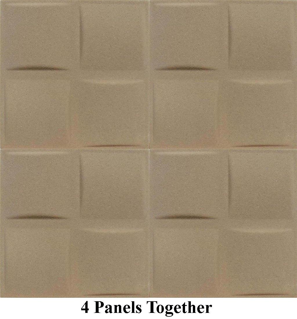 Pillows Panels Sand Texture 4pc Antique Ceilings