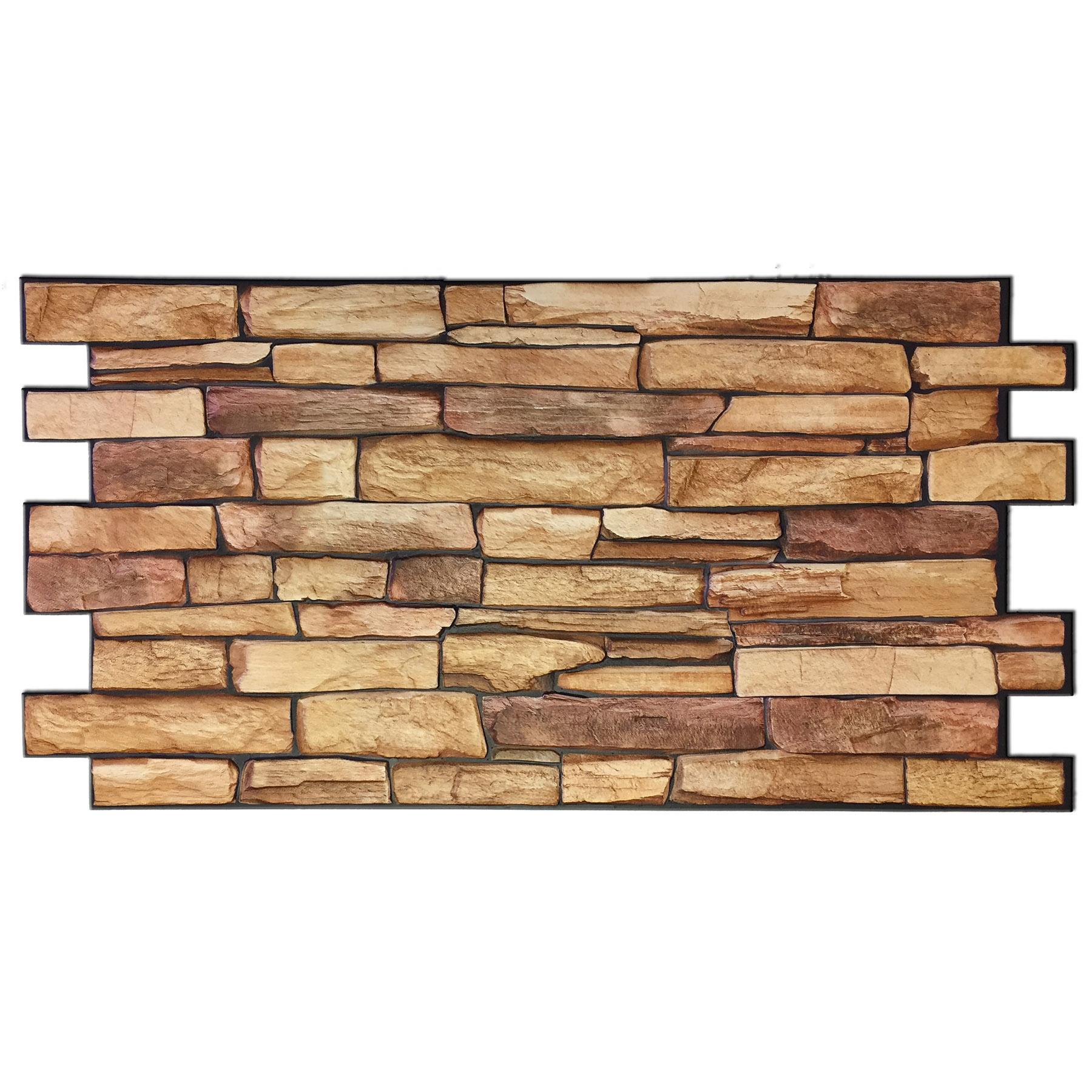 Sandstone Slate Backsplash Panel 39 Quot X 19 1 2 Quot Pvc Tile