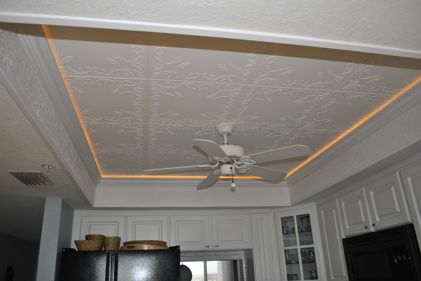 Antique White Foam Ceiling Tiles
