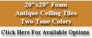 Foam Ceiling Tiles For Glue Up Antique Ceilings Glue Up